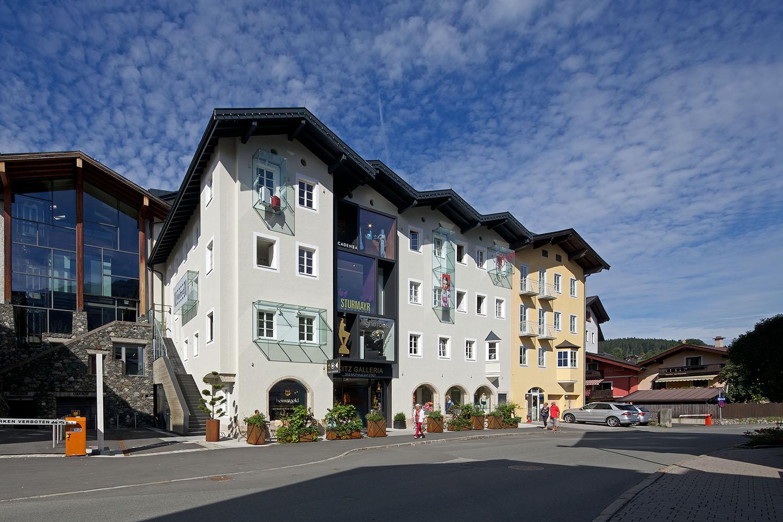 EinkaufsZentrum Kitz Galleria . Kitzbühel Günter Richard Wett bdd3d16139